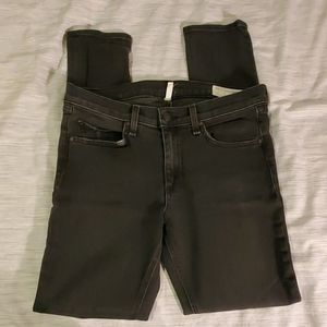 Rag and Bone black distressed Skinny Jeans 30